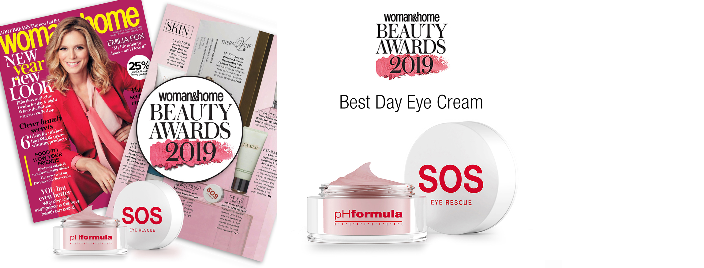 SOS eye rescue awarded Best Day Cream Beauty Award 2019